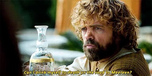 Watch this tyrion lannister GIF on Gfycat. Discover more 5x01, bad boy, daenerys targaryen, drink, eddited, eunuco, game of thrones, gif, gifs, got, house lannister, juego de tronos, killer, lannister, like, meereen, peter dinklage, reblogg, season 5, spoiler, tyrion GIFs on Gfycat