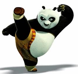 Watch and share Dessin Animé : Kung Fu Panda GIFs on Gfycat