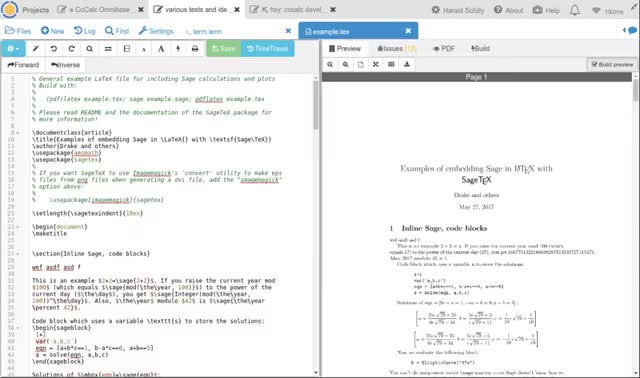 Watch and share Cocalc GIFs and Latex GIFs by haraldschilly on Gfycat
