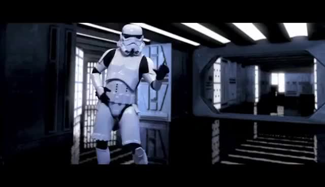 Watch No no Stormtrooper GIF on Gfycat. Discover more starwars GIFs on Gfycat