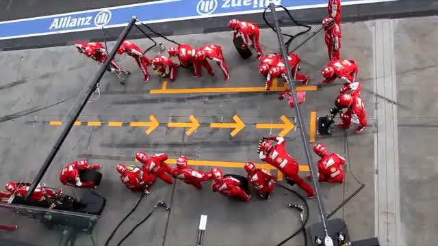 Watch Ferrari F1 Pit Stop GIF by @siz___ on Gfycat. Discover more f1, ferrari, gifs GIFs on Gfycat