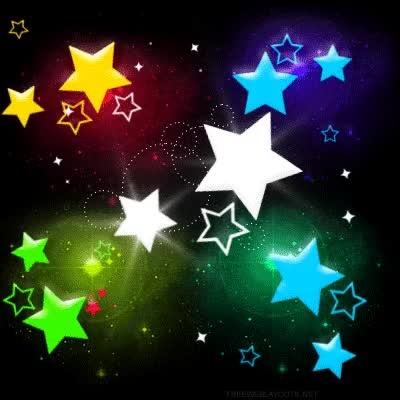 Watch and share Stars  Colorful GIFs on Gfycat