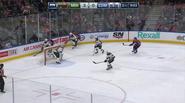 Watch and share Slepyshev Puck Protect GIFs by cultofhockey on Gfycat