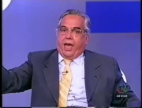 Watch Terceiro Tempo 2003 c/EURICO MIRANDA! Discussão NETO x GODOY! GIF on Gfycat. Discover more related GIFs on Gfycat