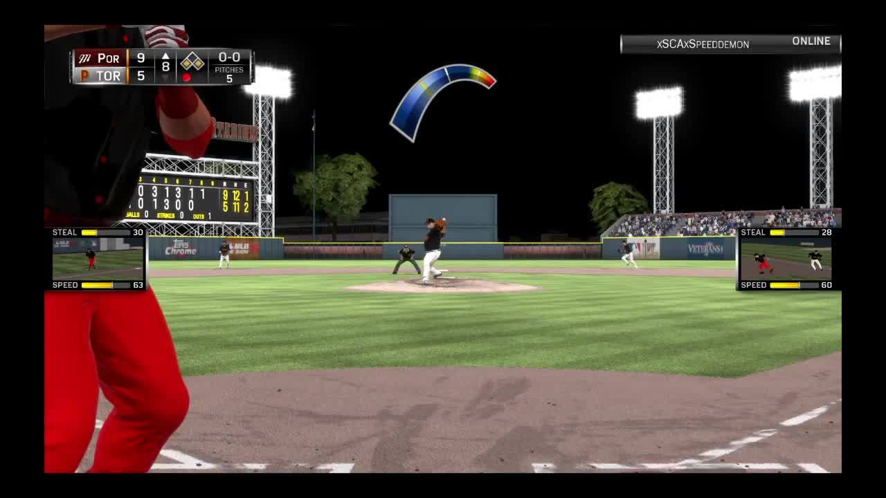 diamonddynasty, mlbtheshow, Non-tag at Homeplate GIFs