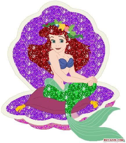 Watch and share Tags: Ariel, La Sirenita animated stickers on Gfycat