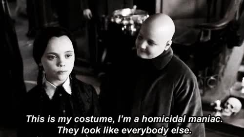 Watch and share Halloween Costumes GIFs and The Addams Family GIFs on Gfycat