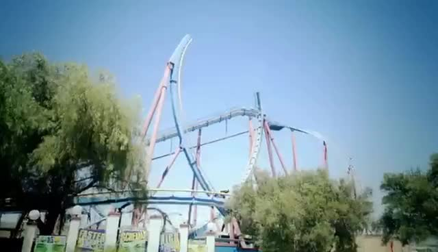 Watch and share Roller Coaster GIFs and Six Flags GIFs on Gfycat