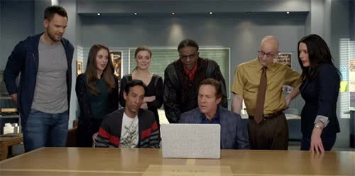 Watch 'Community' Postmortem: Dan Harmon on 'Intro to Recycled Cinema' GIF on Gfycat. Discover more related GIFs on Gfycat