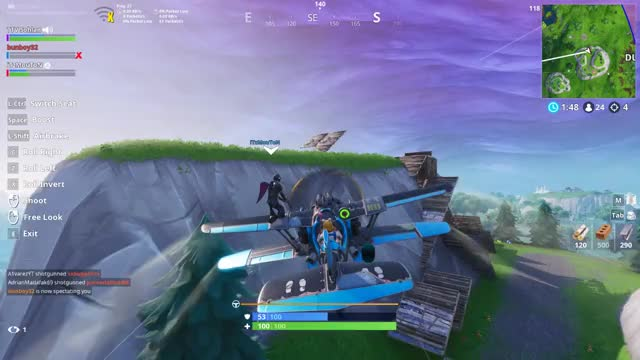 Watch and share Knockedout GIFs and Fortnite GIFs by Overwolf on Gfycat