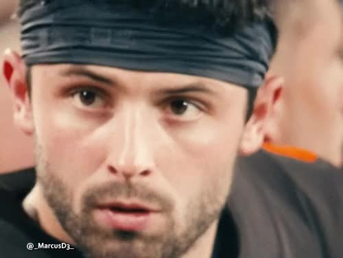 Watch Baker Mayfield wink reaction GIF by MarcusD (@-marcusd-) on Gfycat. Discover more related GIFs on Gfycat