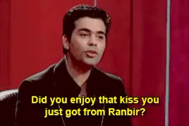 Watch and share Koffee With Karan GIFs and Ranbir Kapoor GIFs on Gfycat