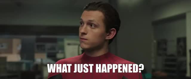Watch this confused GIF by Media Paradise (@entfanatic) on Gfycat. Discover more confused, spiderman, spiderman far from home, tom holland, what, what just happened, wtf GIFs on Gfycat