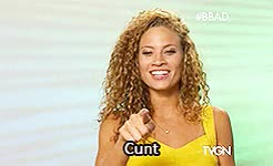 "Watch ""I'm not using it"" - Christine GIF on Gfycat. Discover more *eyes emoji*, bb16 GIFs on Gfycat"