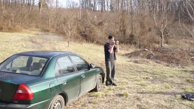 Watch Idiot vs. Car Window (Original) GIF on Gfycat. Discover more americans, cut bone, faceplant, failed, guy, head, por, truck, ultimate, vs GIFs on Gfycat