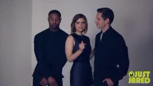 Watch and share Michael B Jordan GIFs and Jamie Bell GIFs on Gfycat