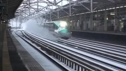 Watch and share 🚄 High-speed Train  🚅 High-speed Train With Bullet Nose GIFs on Gfycat