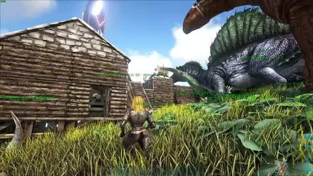 Evolution Ark Mod Test 1 GIF | Find, Make & Share Gfycat GIFs