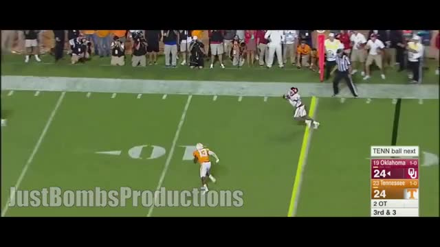 Watch Oklahoma WR Sterling Shepard 2015 Highlights ᴴᴰ GIF by @nfldude on Gfycat. Discover more jbp, just bombs productions, justbombsproductions GIFs on Gfycat