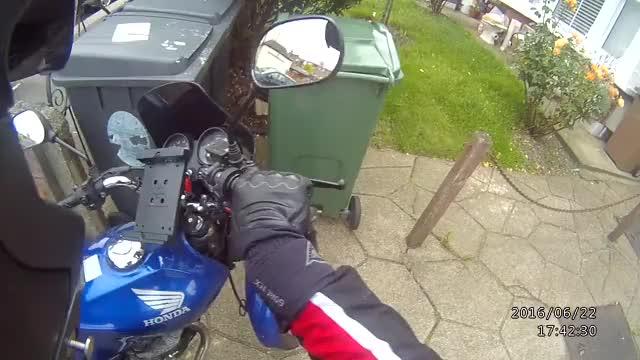 Neighbour's Errant Wheelie-Bin (reddit) GIF | Find, Make