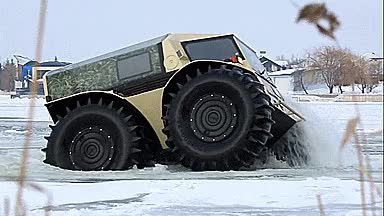 Watch and share Sherp Russian Unstoppable ATV - GIF GIFs on Gfycat
