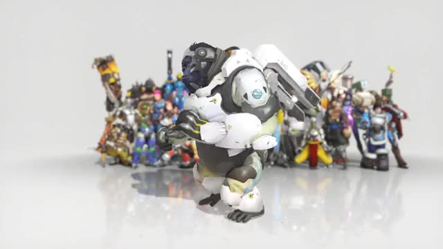Watch and share Overwatch GIFs and Winston GIFs by manabanana on Gfycat