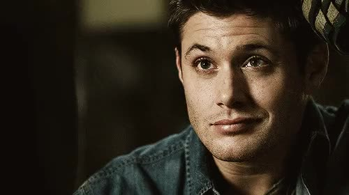 Watch Dean Winchester - Smile GIF on Gfycat. Discover more dean gif, dean winchester, deans smile, hes too perfect, his smile though, jensen ackles, spn, spn edit, spn family, spn gifset, supernatural, that side smirk GIFs on Gfycat