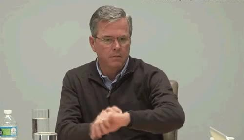 Watch and share Jeb Bush GIFs on Gfycat