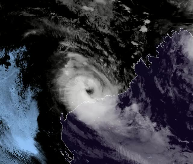 Watch Severe Tropical Cyclone Veronica 23:30 UTC, March 22 - 15:10 UTC, March 23, 2019 GIF by The Watchers (@thewatchers) on Gfycat. Discover more related GIFs on Gfycat