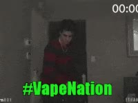 Watch and share Ethan, Bradberry, Vape, Nation GIFs on Gfycat