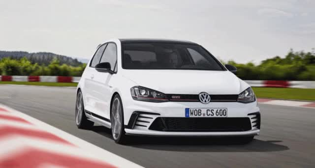 Watch and share VW Just Revealed One Of Its Frankfurt Specials: The New GTI Clubsport Anniversary. GIFs on Gfycat