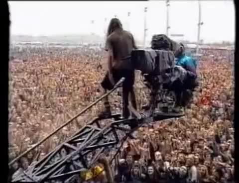 Watch and share Eddie Vedder Stage Jump GIFs on Gfycat
