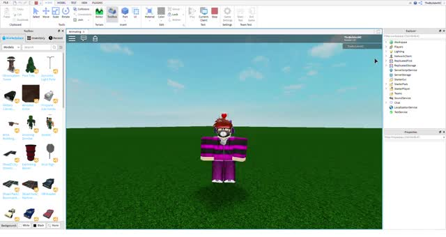Watch and share Animating - Roblox Studio 5 17 2019 5 17 46 PM GIFs on Gfycat