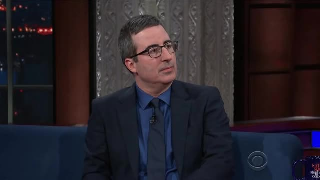 Watch and share Stephen Colbert GIFs and John Oliver GIFs on Gfycat