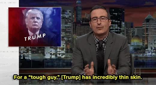 Watch and share Donald Trump GIFs and John Oliver GIFs on Gfycat