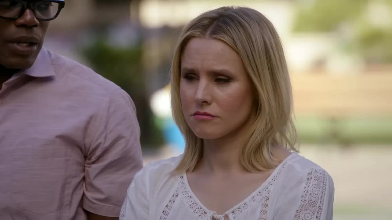 disappointed, kristen bell, ted danson, the good place, I'm not mad I'm just disappointed GIFs