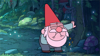 disgust, disgusting, ew, gnome, gravity falls, gross, rainbow, sick, throw up, vomit, Gravity Falls Gnome GIFs