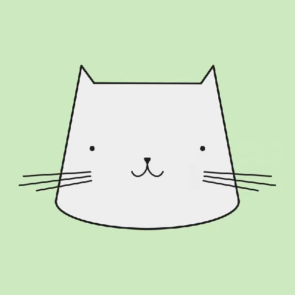 Watch and share Kitten GIFs and Pastel GIFs by Reactions on Gfycat