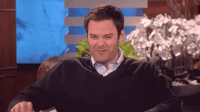 Watch this bill hader GIF by GIF Queen (@ioanna) on Gfycat. Discover more away, bill, dumb, ellen, funny, go, hader, haha, hilarious, impersonate, jack, laugh, lol, loud, nickolson, out, scared, scary, show, wild GIFs on Gfycat