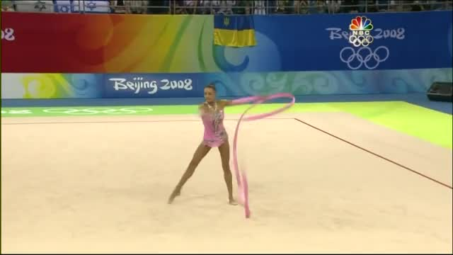 Watch Evgenia Kanaeva Ribbon 2008 Olympic GIF by My.Passion.My.Thoughts. (@mypassionmythoughts) on Gfycat. Discover more evgenia, evgenia kanaeva, flexibility, gymnastics, kanaeva, motion, olympics, pink, rg, rhythmic, rhythmic gymnastics, ribbon GIFs on Gfycat