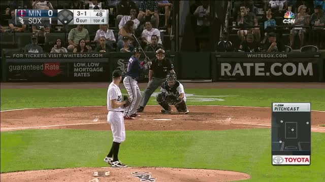 Watch and share Giolito FB 4th HR Polanco GIFs on Gfycat