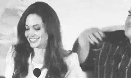 Watch and share Angelina Jolie GIFs and Spontaneity GIFs on Gfycat