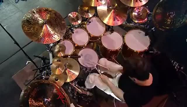 Watch and share Gavin Harrison - Bass Drum GIFs on Gfycat