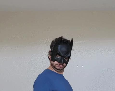 Watch Bat-Ethan Zoom In GIF by Carlos Gutierrez (@eastcoastlos) on Gfycat. Discover more funnygifs, h3h3productions GIFs on Gfycat