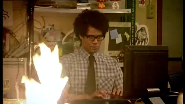Watch itcrowd.gif GIF by Streamlabs (@streamlabs-upload) on Gfycat. Discover more richard ayoade GIFs on Gfycat