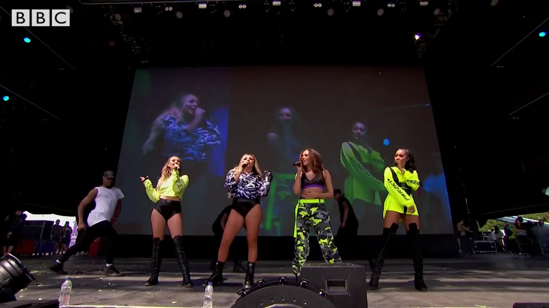 Little Mix, R1BW, Touch, bbc, big weekend, radio 1's big weekend, Little Mix - Touch (Radio 1's Big Weekend 2017) GIFs