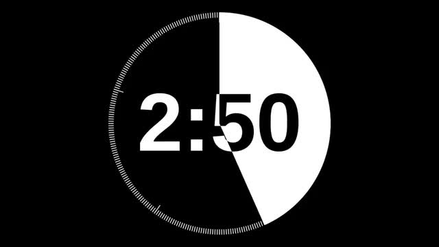 Watch 5 Minute Timer GIF on Gfycat. Discover more All Tags, Count, Down, Presentation, Simple, animation, clock, countdown, five, hd, limit, minute, speech, talk, time, timer GIFs on Gfycat