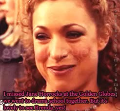 Watch Alex Kingston Central GIF on Gfycat. Discover more Alex Kingston, Baby Kingston, Brenda Blethyn, But Here Is Cutie Pie Herself, ER, Gifs: Mine, I Misspelled Brenda Blethyn - HAHA. Oh Well., Interview, Jane Horrocks, Los Angeles, Mine, My Edit, Oh My Goodness There Was A Lot Chatter - I Nearly Gave Up Giffing It, Precious Kingston, Red Carpet, SAG Awards GIFs on Gfycat
