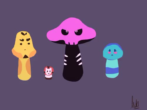 Watch and share Mystery Skull GIFs and Mushrooms GIFs on Gfycat