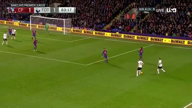 Dele Alli with his Incredible Goal against Crystal Palace